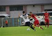جام حذفی فوتبال| ادامه دیدار ملوان و خیبر در وقت اضافه