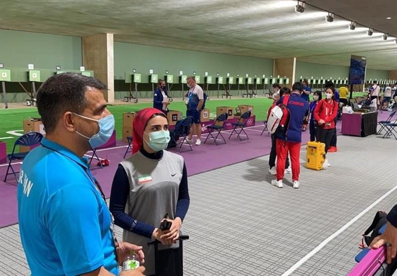 المپیک 2020 توکیو| سلطانیفر و صالحی امیری تماشاگر رقابت بانوی تیرانداز ایرانی