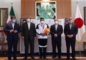 المپیک 2020 توکیو| اهدای پاداش مدال طلای جواد فروغی با حضور مسئولان ایران