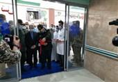 فاز دوم بیمارستان امام رضا(ع) با حضور فرمانده نیروی دریایی سپاه در چالوس افتتاح شد+ تصاویر