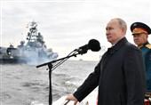 پوتین: ناوگان دریایی دفاع از سرزمین و منافع ملی روسیه را تضمین کرده است