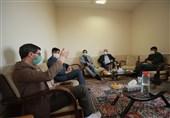 دیدار جمعی از مدیران تسنیم با مسئولان چهارمحال و بختیاری بهروایت تصویر