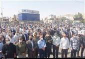 راهپیمایی مردم ایذه در محکومیت اغتشاشات اخیر خوزستان/ صف مطالبهگران از آشوبطلبان جداست
