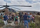 فرود اضطراری بالگرد اسرائیلی در کرانه باختری