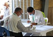 بزرگترین مرکز واکسیناسیون استان مرکزی در مصلی اراک آغاز بهکار کرد