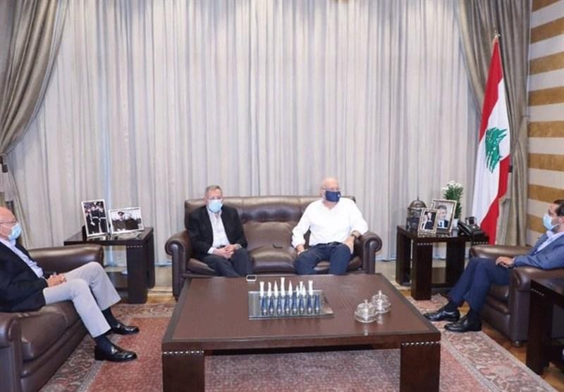 نخست وزیران سابق لبنان برای خروج از بحران گرد هم آمدند