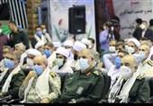 فرمانده کل سپاه از خانواده شهدای کردستان تجلیل کرد+تصاویر