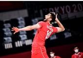 المپیک 2020 توکیو| غفور؛ امتیازآورترین بازیکن ایران مقابل ونزوئلا