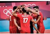 Iran Volleyball Team Overpowers Venezuela at Tokyo 2020