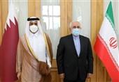 Iranian, Qatari FMs Meet in Tehran
