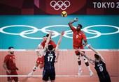 المپیک 2020 توکیو| تیمهای والیبال لهستان و روسیه حریفان خود را شکست دادند