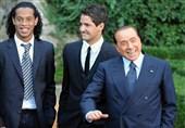 رونالدینیو: امیدوارم تیم برلوسکونی را در سری A ببینم/ مسی باید در بارسلونا بماند