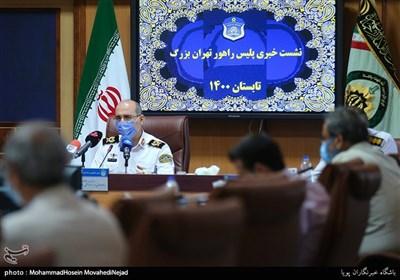 سردار محمدحسین حمیدی رئیس پلیس راهور تهران بزرگ