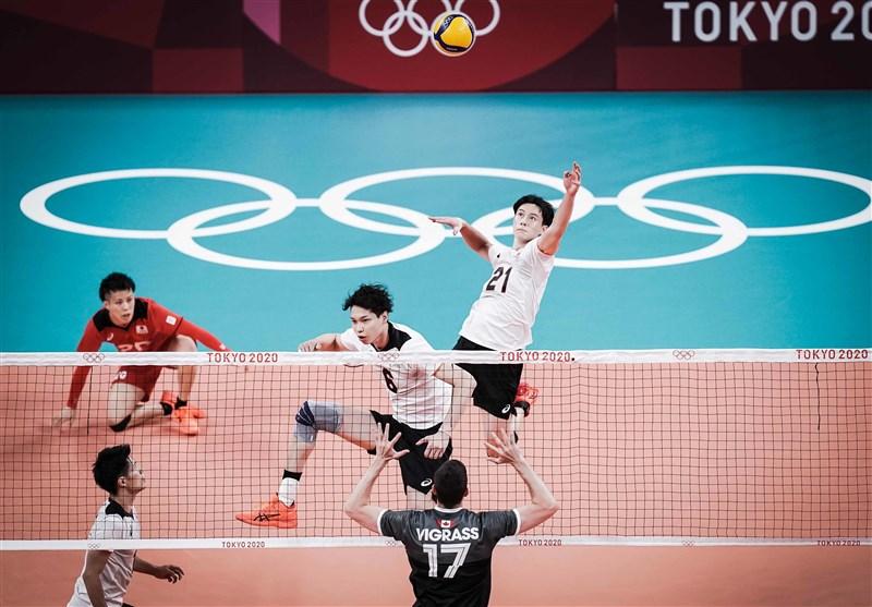 المپیک 2020 توکیو| والیبال ژاپن جای ایران در صدر جدول را گرفت/ پیروزی آسان فرانسه مقابل تونس