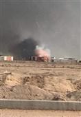 انفجار در زاغه مهمات حشد الشعبی در نجف