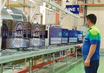 راهاندازی نخستین خط تولید صفحه نمایش تلویزیون در کشور