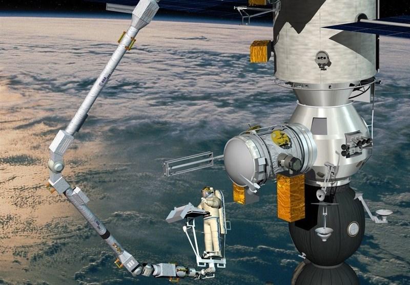 بازوی رباتیک جدید به ایستگاه فضایی بینالمللی متصل میشود