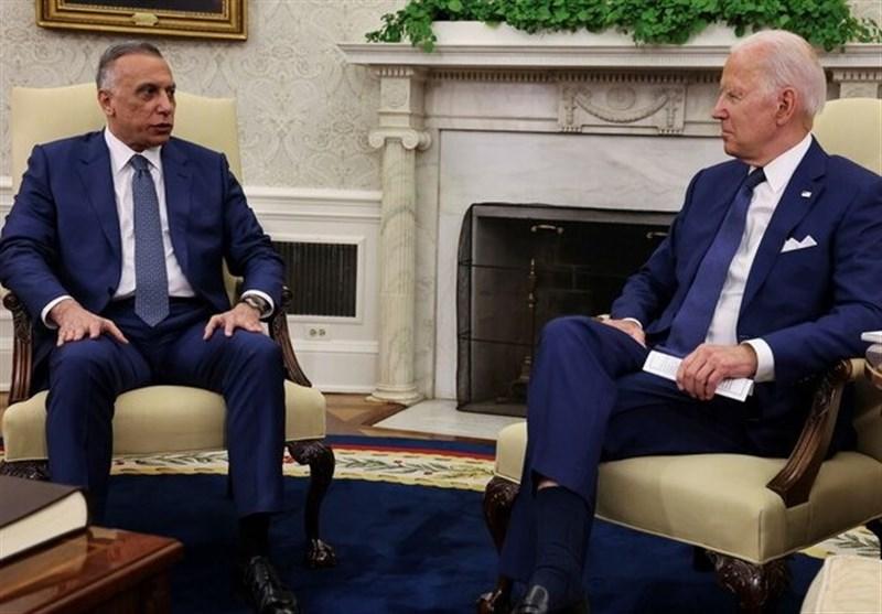 بیانیه مشترک بایدن و الکاظمی/ پایان حضور نظامی آمریکا در عراق در انتهای 2021