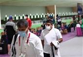 المپیک 2020 توکیو| فروغی، سوژه عکاسان خارجی در مسابقه میکس تپانچه+ عکس