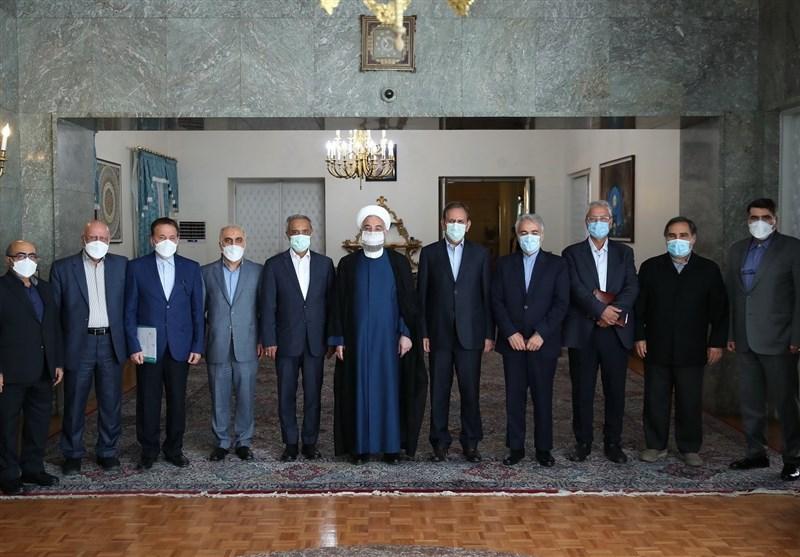 آخرین جلسه ستاد هماهنگی اقتصادی دولت حسن روحانی + عکس