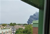 انفجار شدید در کارخانهای در آلمان