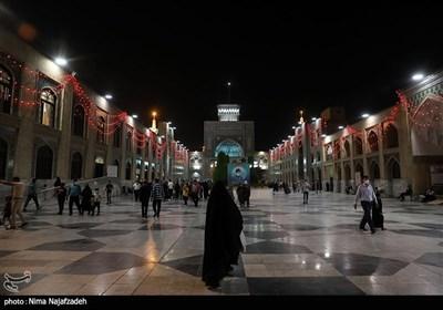 حرم مطهر رضوی در شب عید غدیر