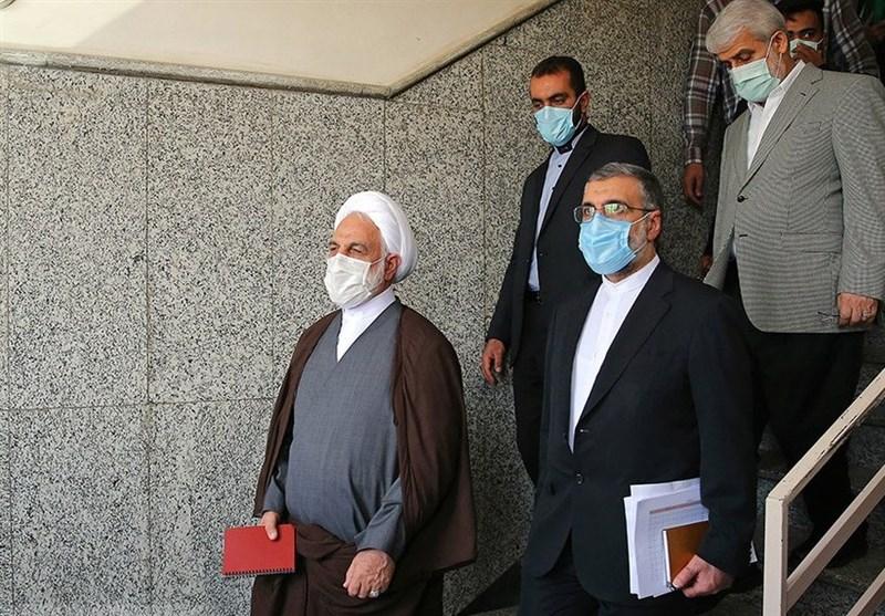 بازدید 2 ساعته رئیس قوه قضائیه از دادگستری و دادسرای قرچک / گفتوگوی صمیمی اژهای با مردم و صدور دستورات قضایی