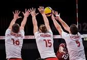 المپیک 2020 توکیو| پیروزی تیم ملی والیبال لهستان مقابل ونزوئلا