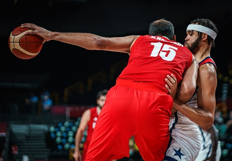 المپیک ۲۰۲۰ توکیو| گزارش سایت آمریکایی از تقابل با بسکتبال ایران؛ حریف، دفاعی نداشت، هیچ دفاعی!