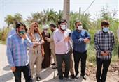 همراهی مداحان با مردم خوزستان در تنش آبی/ 250 میلیون تومان برای آبرسانی روستای 50 خانواری جمعآوری شد + عکس