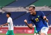 المپیک 2020 توکیو| صعود برزیل و کره جنوبی به مرحله یک چهارم نهایی فوتبال/ آلمان و عربستان حذف شدند