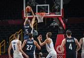 المپیک 2020 توکیو| دومین پیروزی متوالی تیم ملی بسکتبال فرانسه / شاگردان شاهینطبع در قعر جدول