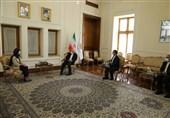 خداحافظی سفیر بلژیک با ظریف