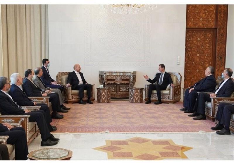 الأسد : إیران شریک أساسی لسوریة