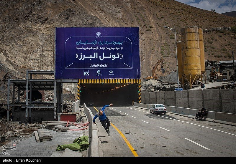 دستاورد ارزشمند دیگری از متخصصان ایرانی/ طولانیترین تونل خاورمیانه در آزادراه تهران ـ شمال افتتاح شد
