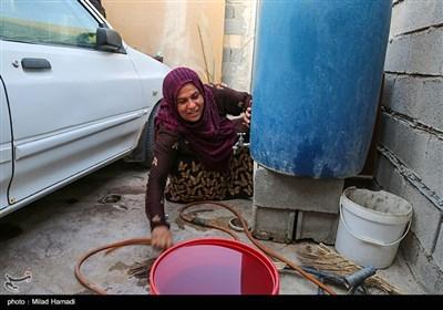 بی آبی در شهرک طالقانی ماهشهر