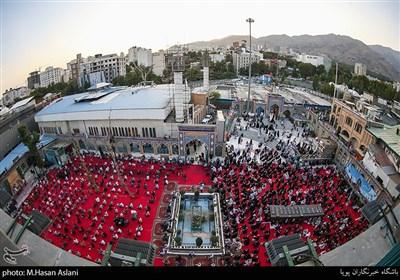 جشن عیدغدیرخم در حرم امام زاده صالح (ع)