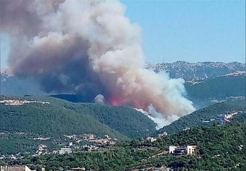 Lebanon's North Ravaged by Massive Wildfires As Residents Forced to Flee from Towns (+Video)