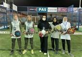 نتایج روز نخست رقابتهای پدل جام ستارگان بانوان مشخص شد