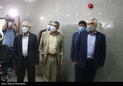 ایرج حریرچی معاون کل وزارت بهداشت و محمدمهدی طهرانچی رئیس دانشگاه آزاد