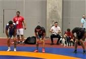 المپیک 2020 توکیو| اولین تمرین روی تشک فرنگیکاران برگزار شد