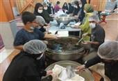 اطعام 5 هزارنفر به همراه بسته فرهنگی توسط لشگر ویژه شهدا خراسان جنوبی در عید غدیر