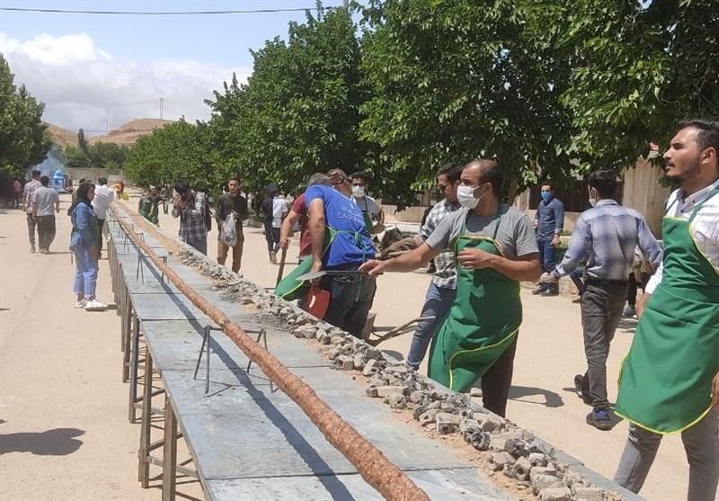 پخت بلندترین کباب کوبیده دنیا در بجنورد + فیلم