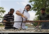 بلندترین کباب کوبیده دنیا در بجنورد طبخ شد+تصاویر
