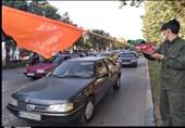 برپایی ایستگاه صلواتی به مناسبت جشن عید غدیر خم در ایلام به روایت تصویر