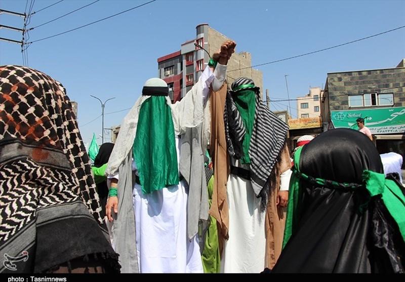 جشن بزرگ عید غدیر در شهرقدس برگزار شد + تصاویر