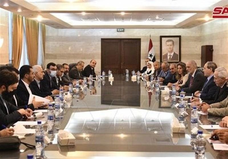 المقداد : العلاقات السوریة الإیرانیة أصبحت نموذجاً یحتذى فی کل المجالات