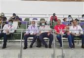 المپیک 2020 توکیو| حضور صالحی امیری در ورزشگاه المپیک دوومیدانی