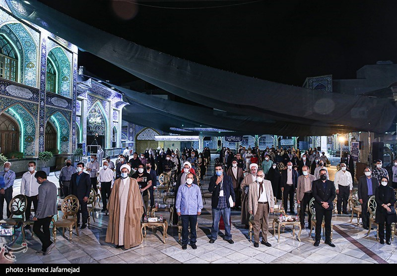 مراسم اختتامیه جشنواره بزرگ صالح در صحن امامزاده صالح(ع) تجریش