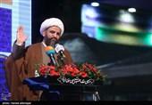 سخنرانی حجتالاسلام احسان بیآزار تهرانی رئیس جشنواره بزرگ صالح